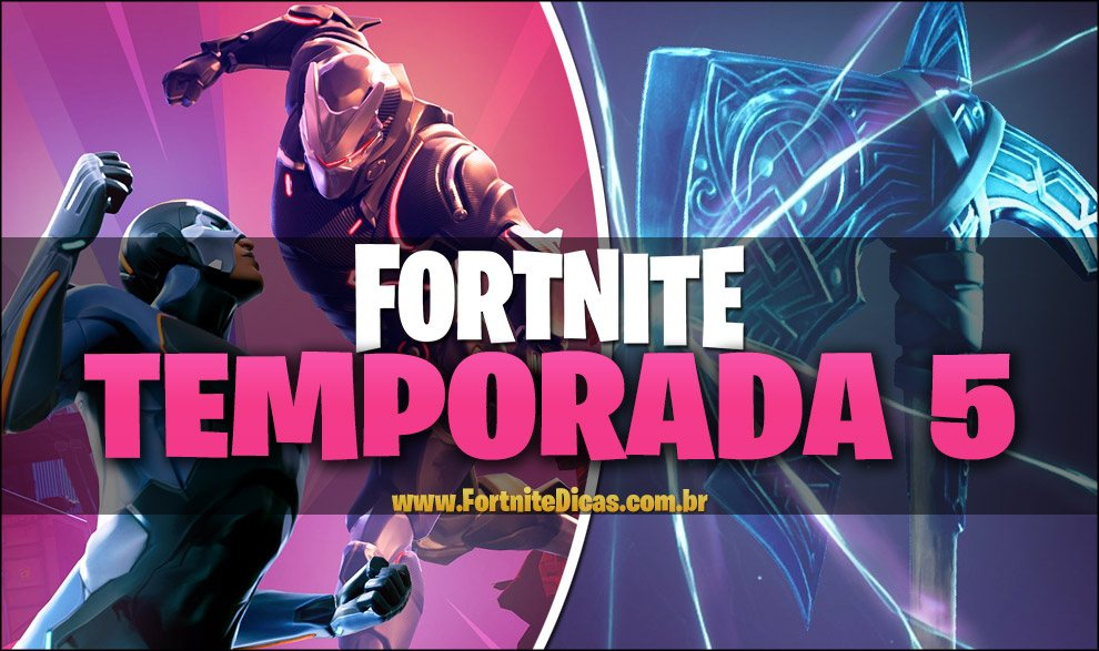 Temporada 5 de fortnite data hor rio download e for Fortnite temporada 5 sala