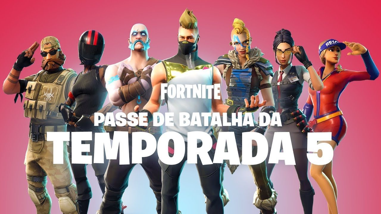 Temporada 5 fortnite atualiza o do mapa passe de for Fortnite temporada 5 sala