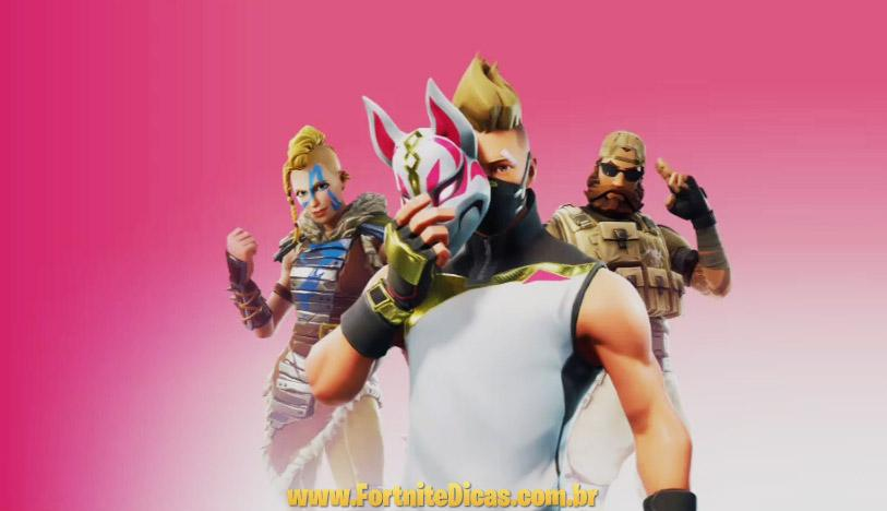 Vazamento da temporada 5 xbox revelou novas skins de for Fortnite temporada 5 sala